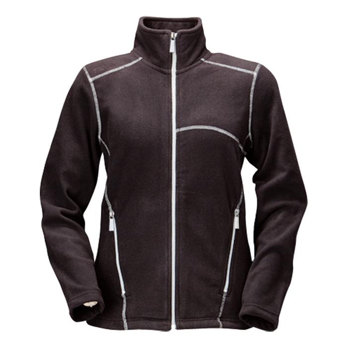 Dámská fleece bunda černá