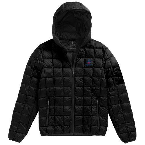 Péřová bunda s kapucí Kanata