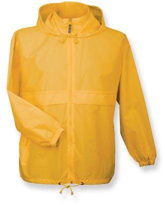 SIROCCO unisex větrovka s kapucí, BC, citronová