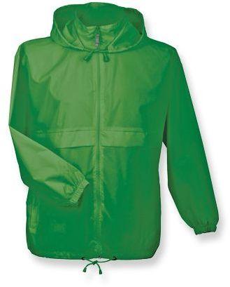 SIROCCO unisex větrovka s kapucí, BC, zelená