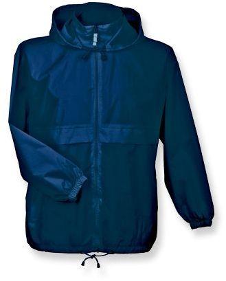 SIROCCO unisex větrovka s kapucí, BC, tmavě modrá