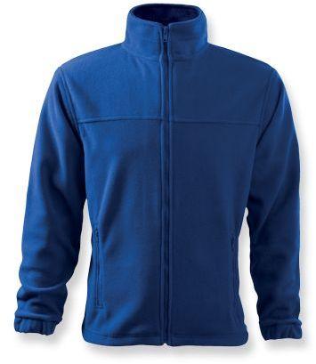 OLIVER pánská fleecová bunda, 280 g/m2, ADLER, modrá