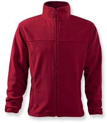 OLIVER pánská fleecová bunda, 280 g/m2, ADLER, červená
