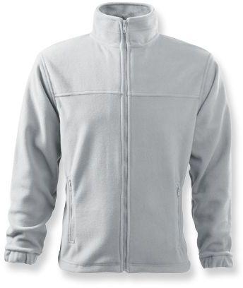 OLIVER pánská fleecová bunda, 280 g/m2, ADLER, bílá