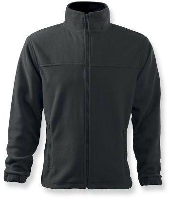 OLIVER pánská fleecová bunda, 280 g/m2, ADLER, šedá
