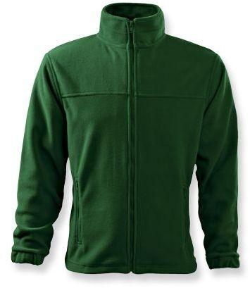 OLIVER pánská fleecová bunda, 280 g/m2, ADLER, tmavě zelená