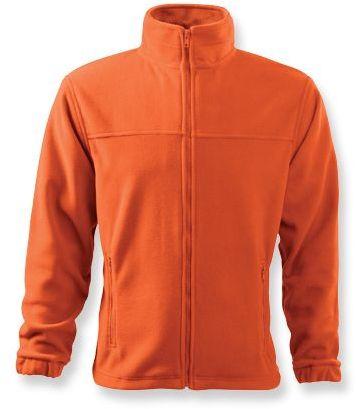 OLIVER pánská fleecová bunda, 280 g/m2, ADLER, oranžová