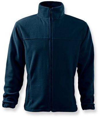 OLIVER pánská fleecová bunda, 280 g/m2, ADLER, tmavě modrá