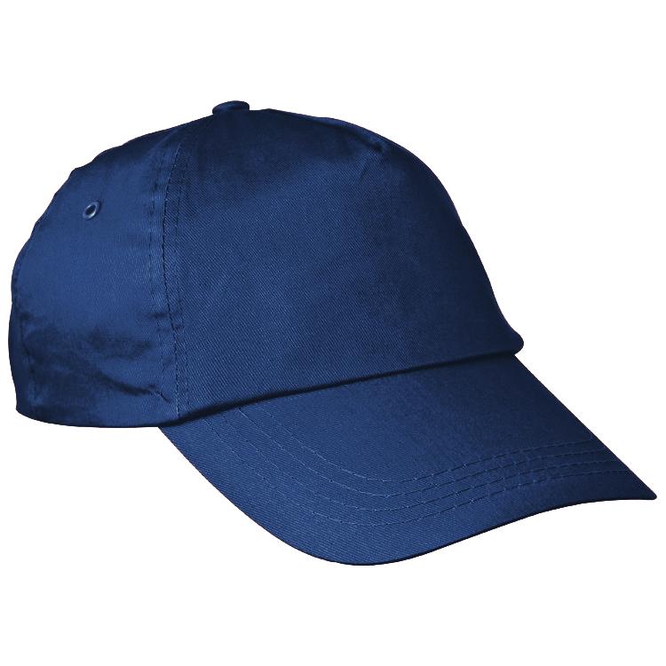Navy bavlněná čepice s potiskem