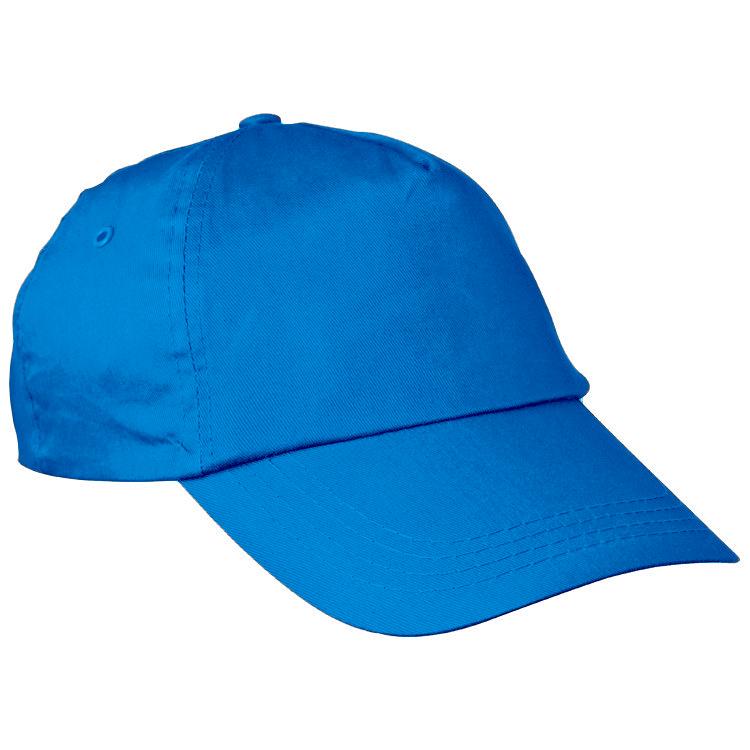 Modrá bavlněná čepice