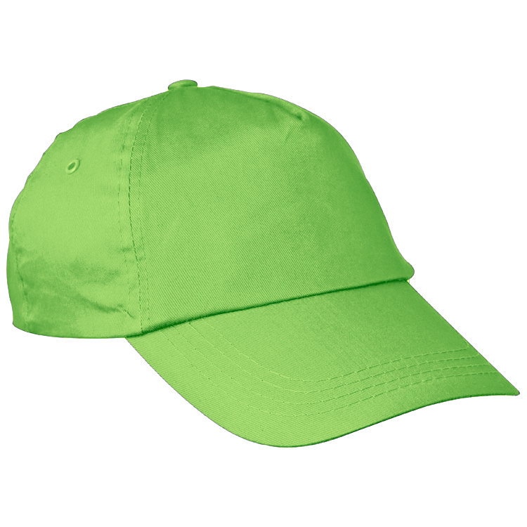 Bavlněná zelená čepice