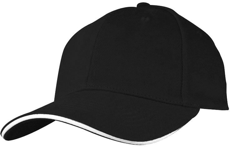 Baseballová černá čepice