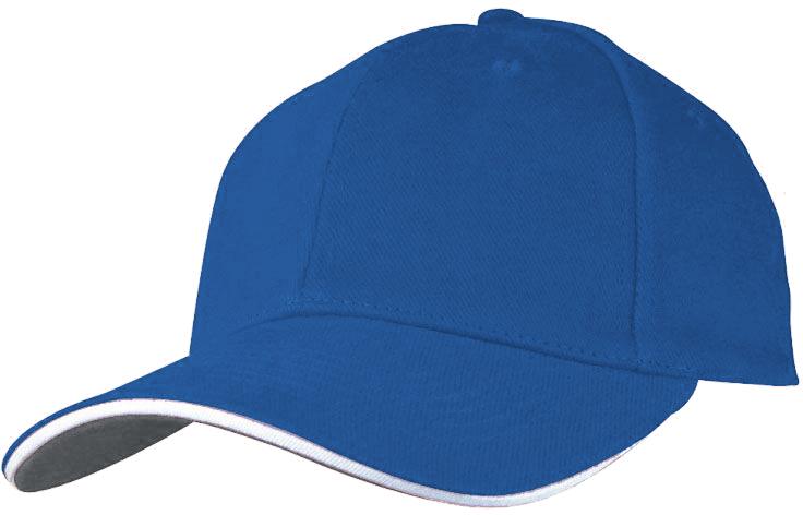 Baseballová modrá čepice