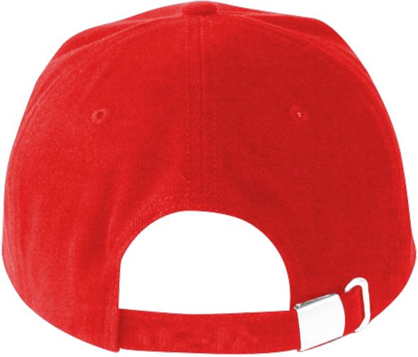 Baseballová červená čepice