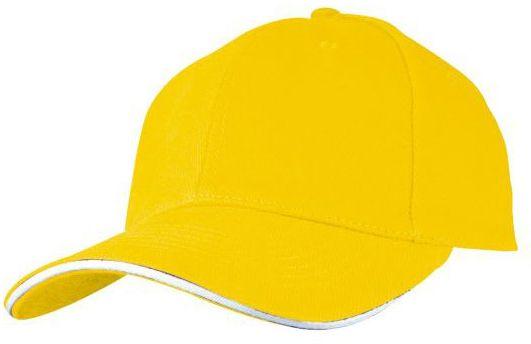 Baseballová žlutá čepice