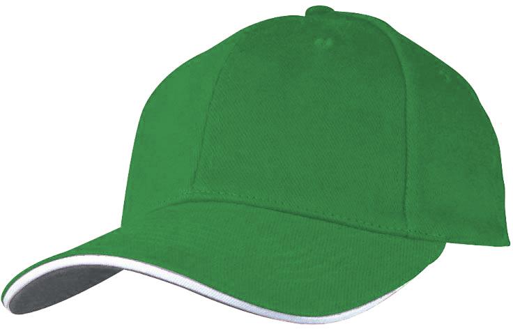Baseballová tmavě zelená čepice