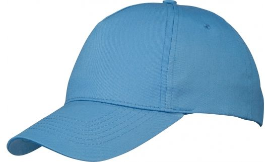 Memphis čepice 5 panelů modrá