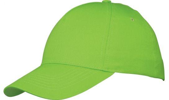 Memphis čepice 5 panelů zelená