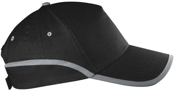 Černá reflexní čepice