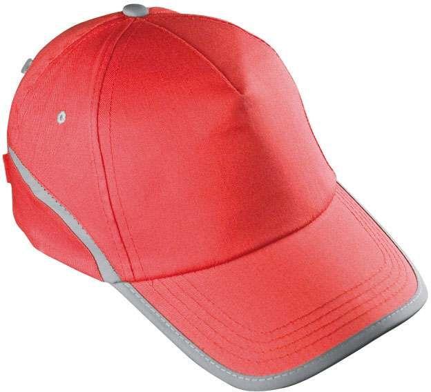 Červená reflexní čepice
