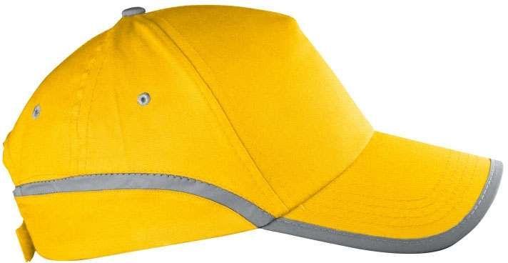 Žlutá reflexní čepice