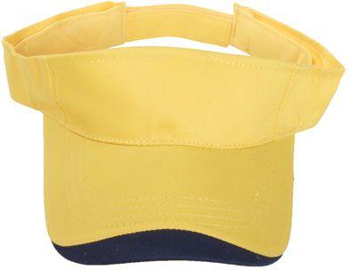 Sluneční žlutý kšilt bavlna