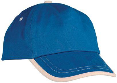 Baseballová modrá čepice - dětská