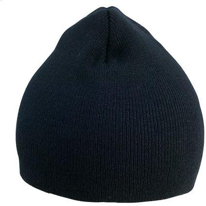 Jive zimní černá čepice s potiskem