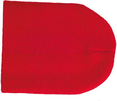 Jive zimní červená čepice