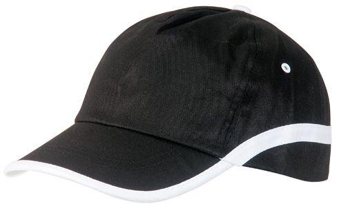 Line baseballová čepice černá