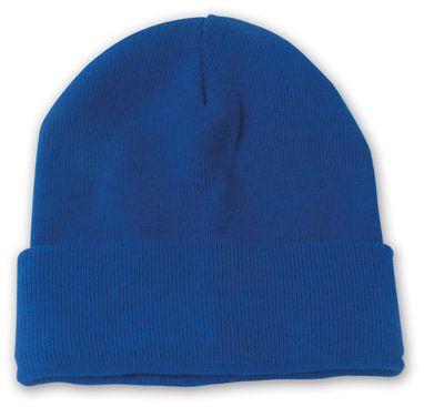 Lana modrá zimní čepice