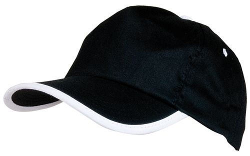 Basebalová čepice černá
