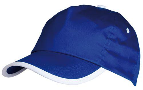 Basebalová čepice modrá