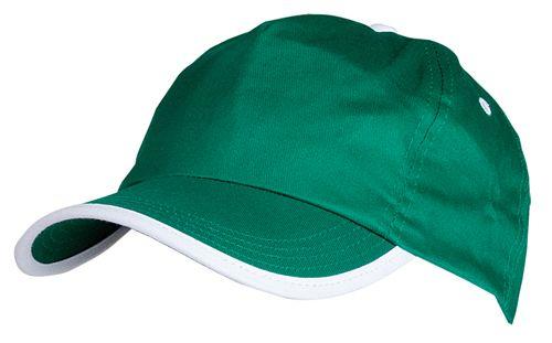 Basebalová čepice zelená