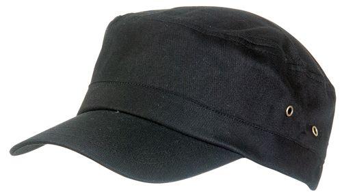 Čepice s krátkým kšiltem černá