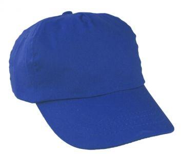 Sport modrá baseballová čepice