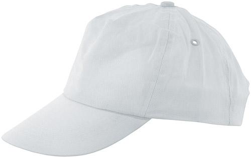 Sport bílá baseballová čepice