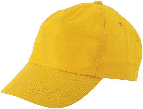 Sport žlutá baseballová čepice
