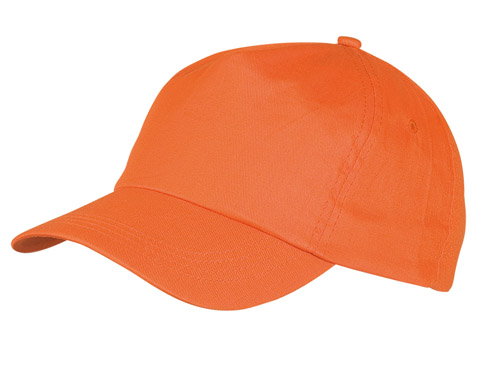 Sport oranžová baseballová čepice