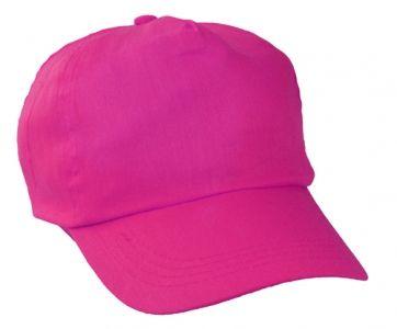 Sport růžová baseballová čepice