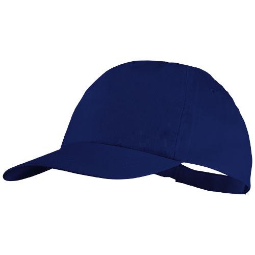 5panelová bavlněná čepice Basic modrá