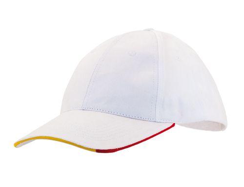 Trek bílá čepice