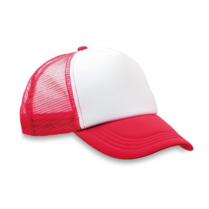 Truckers červená čepice