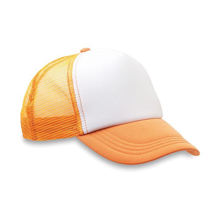 Truckers oranžová čepice