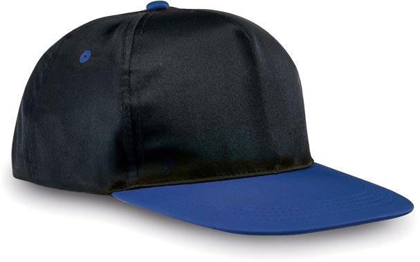Kšiltovka modro-černá