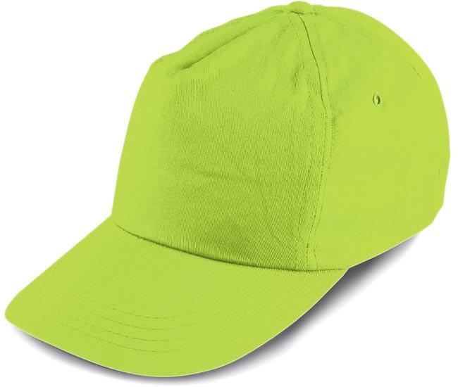 3240baa094e červená  Kšiltovka pro děti světle zelená