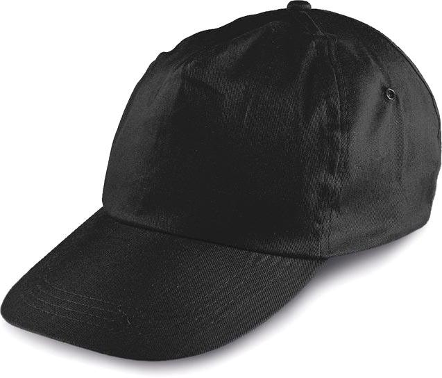 Kšiltovka černá