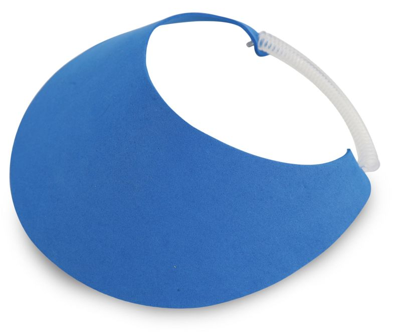 Plážový kšilt modrý
