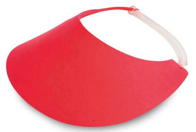 Plážový kšilt červený