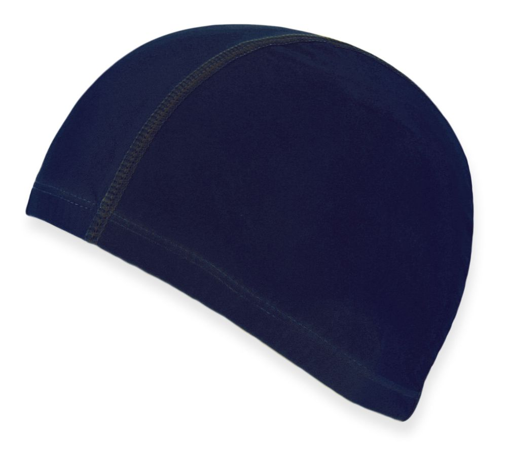 Čepice na plavání modrá